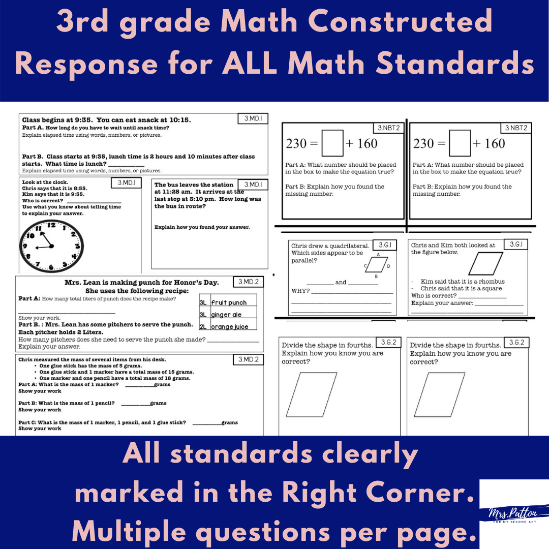 math-constructed-responses